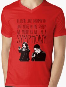 Root and Shaw - Symphony - Person of interest Mens V-Neck T-Shirt