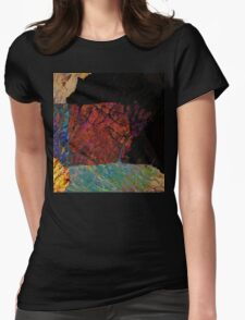 Fracture XLVI Womens Fitted T-Shirt