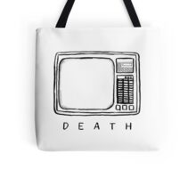 Television is a monster Tote Bag