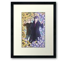 Garden Detectives Framed Print