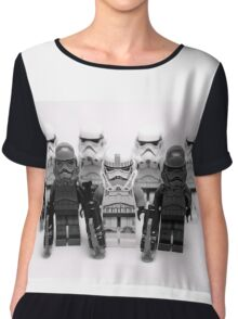 Lego Star Wars Stormtroopers Group Picture Minifigure Chiffon Top