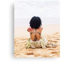 Vibe Beach Canvas Print