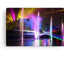 Lasers, Lights, and Richter's Canvas Print