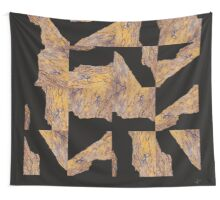 FRACTURE, grid sample I Wall Tapestry