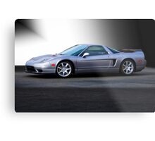 NSX 'Sterling' Acura Coupe Metal Print