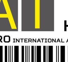 Destination Cairo Airport Sticker