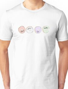 Donut worry, be happy.  Unisex T-Shirt