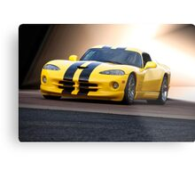 2001 Dodge Viper 'Methanol Injection' Metal Print