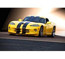 2001 Dodge Viper 'Methanol Injection' Photographic Print
