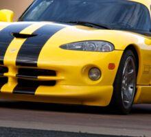 2001 Dodge Viper 'Methanol Injection' Sticker