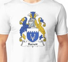 Barnett Coat of Arms / Barnett Family Crest Unisex T-Shirt