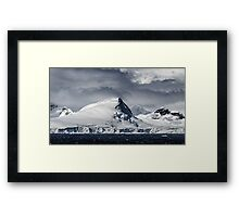 Antarctic Mountains Framed Print