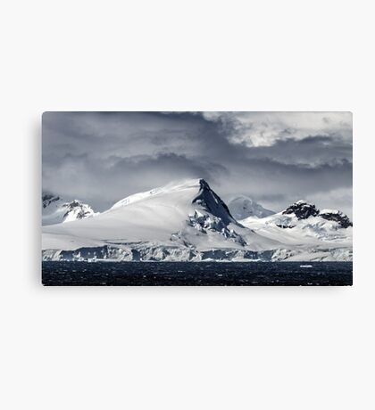 Antarctic Mountains Canvas Print