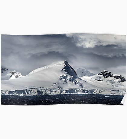 Antarctic Mountains Poster