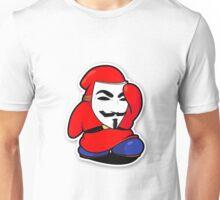 animasi hacker vs cracker Unisex T-Shirt