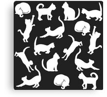Cats: Black and White Canvas Print