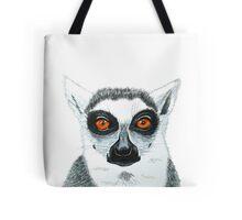 Lemur is watching you Tote Bag