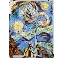 Starry night a Tribute to Vincent Vangogh iPad Case/Skin