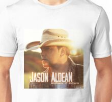 jason aldean burn white Unisex T-Shirt
