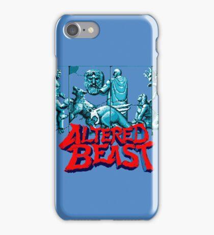 ALTERED BEAST - SEGA ARCADE iPhone Case/Skin