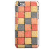 Color Sidewalk Tiles iPhone Case/Skin
