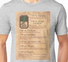 The Green Dragon Menu Unisex T-Shirt