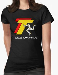 TT TOURIST TROPHY - ISLE OF MAN Womens Fitted T-Shirt
