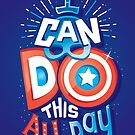 I can do this all day by Risa Rodil