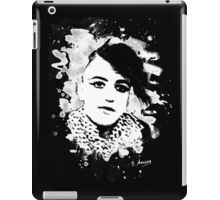 Goth Punk Girl iPad Case/Skin