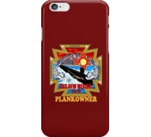 SSN-779 USS  Logo Plank Owner Logo for Dark Colors iPhone Case/Skin