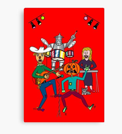 Band of OZ by MH Canvas Print