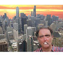The Angry Mayor Photographic Print