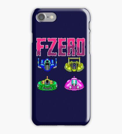 F-ZERO - SUPER NINTENDO iPhone Case/Skin