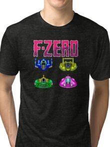 F-ZERO - SUPER NINTENDO Tri-blend T-Shirt