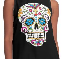 Day of the Dead Skull Contrast Tank
