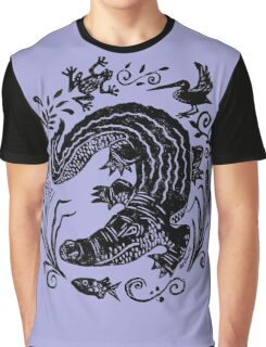 Gator Marsh Graphic T-Shirt