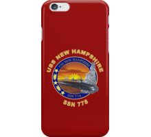 SSN-778 USS New Hampshire for Dark Colors iPhone Case/Skin