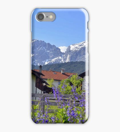 Beauty of Alpine Village iPhone Case/Skin