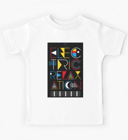 Electric Relaxation Kids Tee
