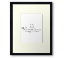 The International Dota 2 Championships 2016 (Invited Teams TBD) Framed Print