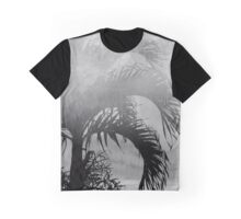 Faded Summer Black & White Graphic T-Shirt