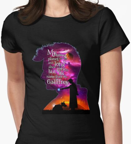 My Home Planet - Colour Womens Fitted T-Shirt