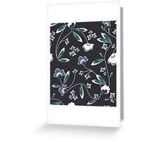 Flower all over! Greeting Card