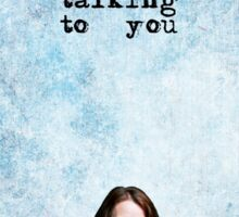"ROOT ""I wasn't talking to you"" - PERSON OF INTEREST  Sticker"