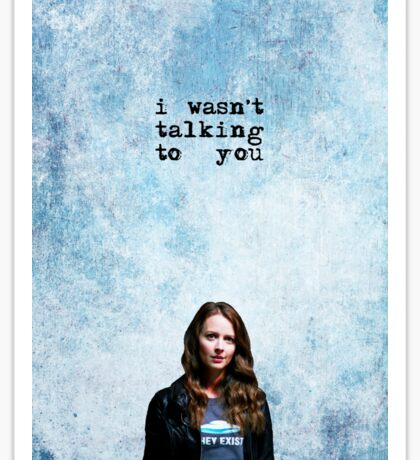 """ROOT """"I wasn't talking to you"""" - PERSON OF INTEREST  Sticker"""