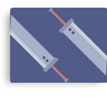 BusterSwords Canvas Print