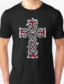 Celtic Cross with Eyes. Unisex T-Shirt