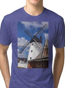 Windmill at Lytham St. Annes - England Tri-blend T-Shirt
