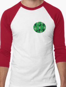 Soccer Men's Baseball ¾ T-Shirt