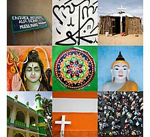 Religions of the world Photographic Print